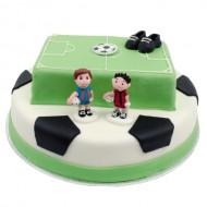 3D Voetbal Taart bezorgen in Leeuwarden