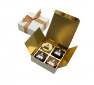 4 Logobonbons in luxe geschenkdoos bezorgen in Den-Haag