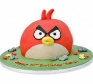 Angry Birdstaart bezorgen in Almere