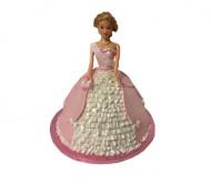 Barbie 3D taart bezorgen in Almere
