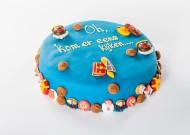 Blauwe Sinterklaastaart bezorgen in Den-Haag