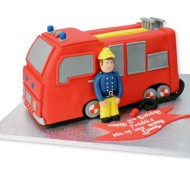 Brandweerautotaart bezorgen in Almere