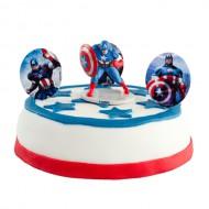 Captain America Marsepeintaartje bezorgen in Den Haag