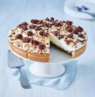 Caramel & Brownie cream pie bezorgen in Oterdum