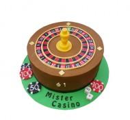Casino 3D taart bezorgen in Almere