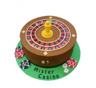 Casino 3D taart bezorgen in Zwolle