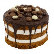 Chocolade Pepernoot Layer Cake bezorgen in Almere