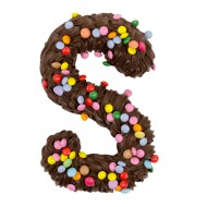 Chocoladeletter Puur Smarties bezorgen in Den-Bosch