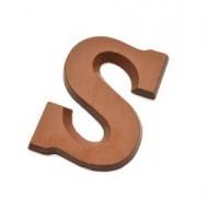"Chocoladeletter ""S"" 150 gram bezorgen in Den Haag"
