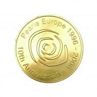 Chocolademedaille met logo bezorgen in Den-Haag