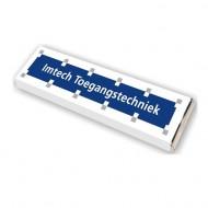 Chocoladereep (75 gram) met bedrukte wikkel bezorgen in Den-Haag