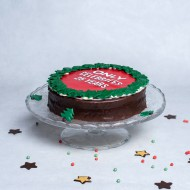 Chocolate & Christmascake bezorgen in Den-Bosch
