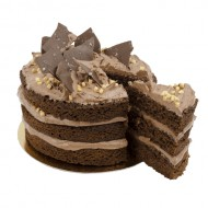 Chocolate Salted Layer Cake bezorgen in Wouw