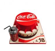 Coca Cola 3D taart bezorgen in Rotterdam