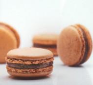 Coffee Karamel Macarons bezorgen in Rotterdam