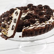 Cookies and cream cheesecake pie bezorgen in Leiden