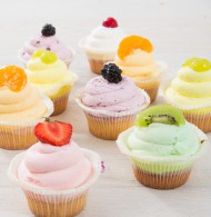 Cupcake fruitassortiment bezorgen in Leeuwarden