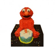 Elmo 3D taart bezorgen in Amsterdam