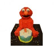 Elmo 3D taart bezorgen in Zwolle