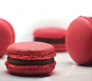 Frambozen Macarons bezorgen in Absdale