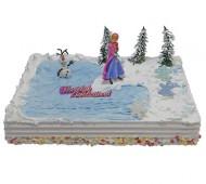 Frozen - Anna Kindertaart bezorgen in Almere