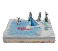Frozen - Elsa Kindertaart bezorgen in Almere