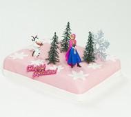 Frozen Anna marsepeintaart bezorgen in Almere