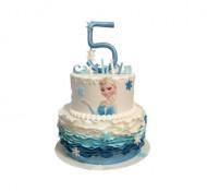 Frozen Elsa 3D taart bezorgen in Leeuwarden