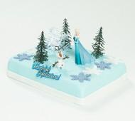 Frozen Elsa marsepeintaart bezorgen in Almere