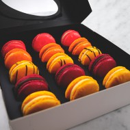 Fruit Macarons bezorgen in Absdale