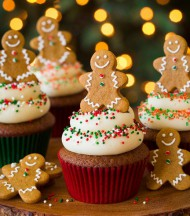 Gingerbread Cupcakes bezorgen in Absdale
