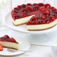 Gluten free luxury strawberry cheesecake bezorgen in Den Haag