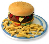 Hamburgertaart bezorgen in Almere