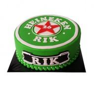 Heineken 3D taart bezorgen in Den-Haag