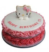 Hello Kitty 3D taart bezorgen in Oterdum