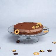 Kerst chocolade bavarois taart bezorgen in Den Haag