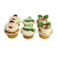 Kerst Cupcakes bezorgen in Brielle