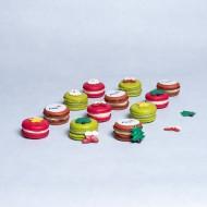 Kerst macarons bezorgen in Den Haag