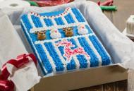 Kerst Trui Taart Blauw bezorgen in Amsterdam