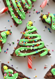 Kerstboom brownies bezorgen in Leeuwarden