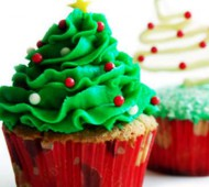 Kerstboomcupcakes bezorgen in Absdale
