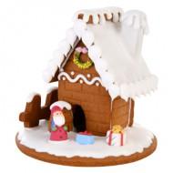 Kersthuisje 4 stuks bezorgen in Den-Bosch