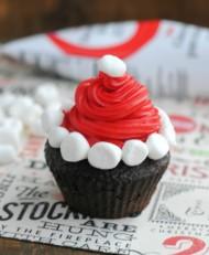Kerstman cupcakes bezorgen in Den-Haag
