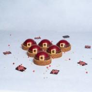 Kerstmannen gebakjes bezorgen in Den Haag