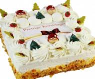 Kerstslagroomtaart Vierkant bezorgen in Leeuwarden