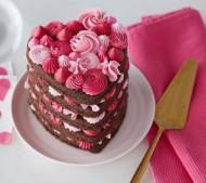 Layer Valentijns cake bezorgen in Zwolle