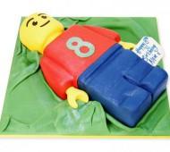 Lego man taart bezorgen in Amsterdam