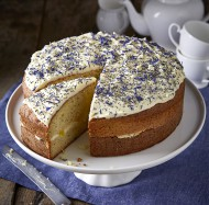 Lemon & poppy seed cake bezorgen in Leiden