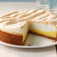 Lemon meringue cookie crust pie bezorgen in Amsterdam