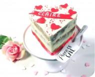 Love hart taart bezorgen in Oterdum